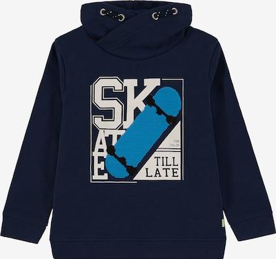 TOM TAILOR Sweatshirt in blau / weiß, Produktansicht