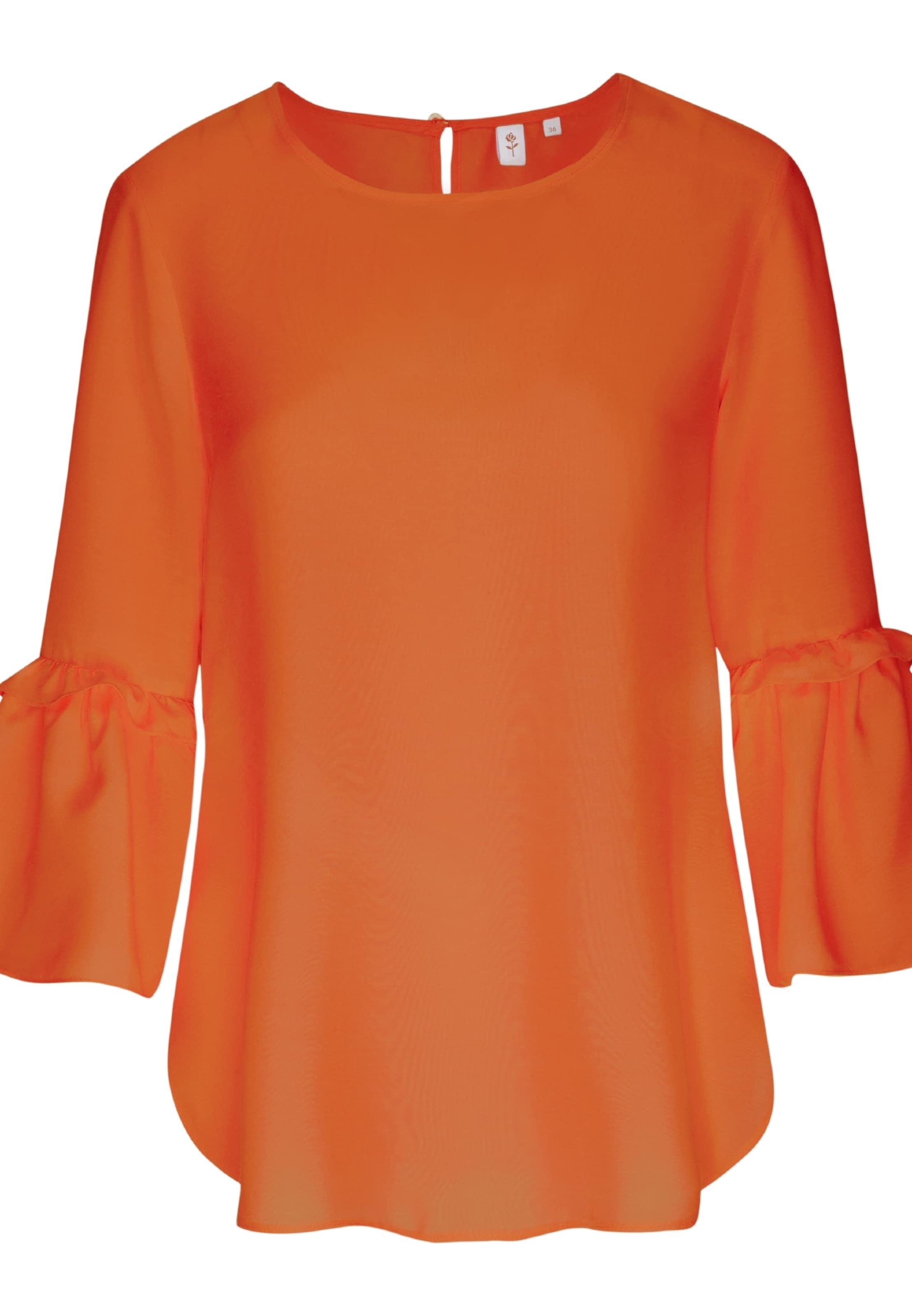 Sinaasappel Seidensticker Rose' Blouse In 'schwarze IEebWH2YD9