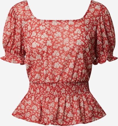 PIECES Bluse 'Akria' in rot, Produktansicht