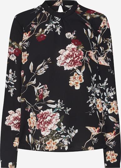 ONLY Bluse in oliv / rosa / dunkelpink / schwarz / weiß, Produktansicht