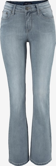 ARIZONA High-waist-Jeans »Bootcut mit komfortabler Leibhöhe« in blue denim, Produktansicht