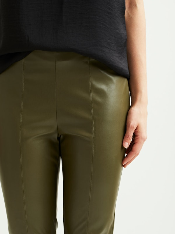 VILA Kunstleder Leggings
