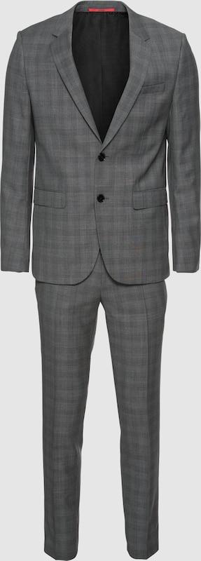 HUGO Anzug in grau  Bequem und günstig