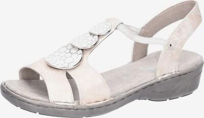 Jenny Sandalen/Sandaletten in beige, Produktansicht