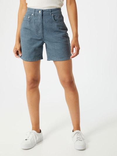 NU-IN Jeans in de kleur Blauw denim: Vooraanzicht