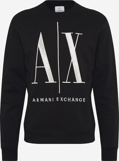 ARMANI EXCHANGE Mikina - černá / bílá, Produkt