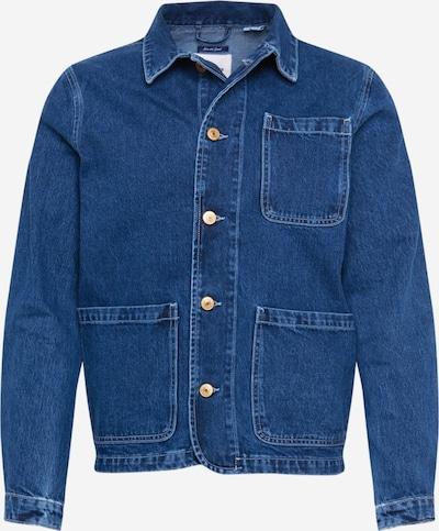 JACK & JONES Jacke 'LUCAS' in blue denim, Produktansicht