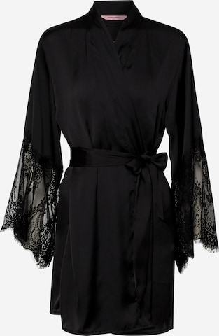 Hunkemöller Negližee 'Kimono Lace', värv must