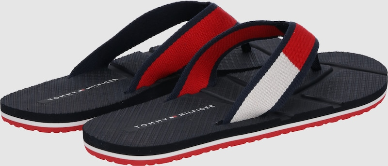 TOMMY HILFIGER Zehentrenner 'TECHNICAL 'TECHNICAL Zehentrenner FLAG BEACH' f19fcd