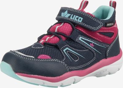 LICO Outdoorschuh 'Solna VS' in nachtblau / hellblau / pink, Produktansicht