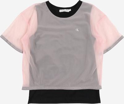 Calvin Klein Jeans T-Shirt en rose, Vue avec produit