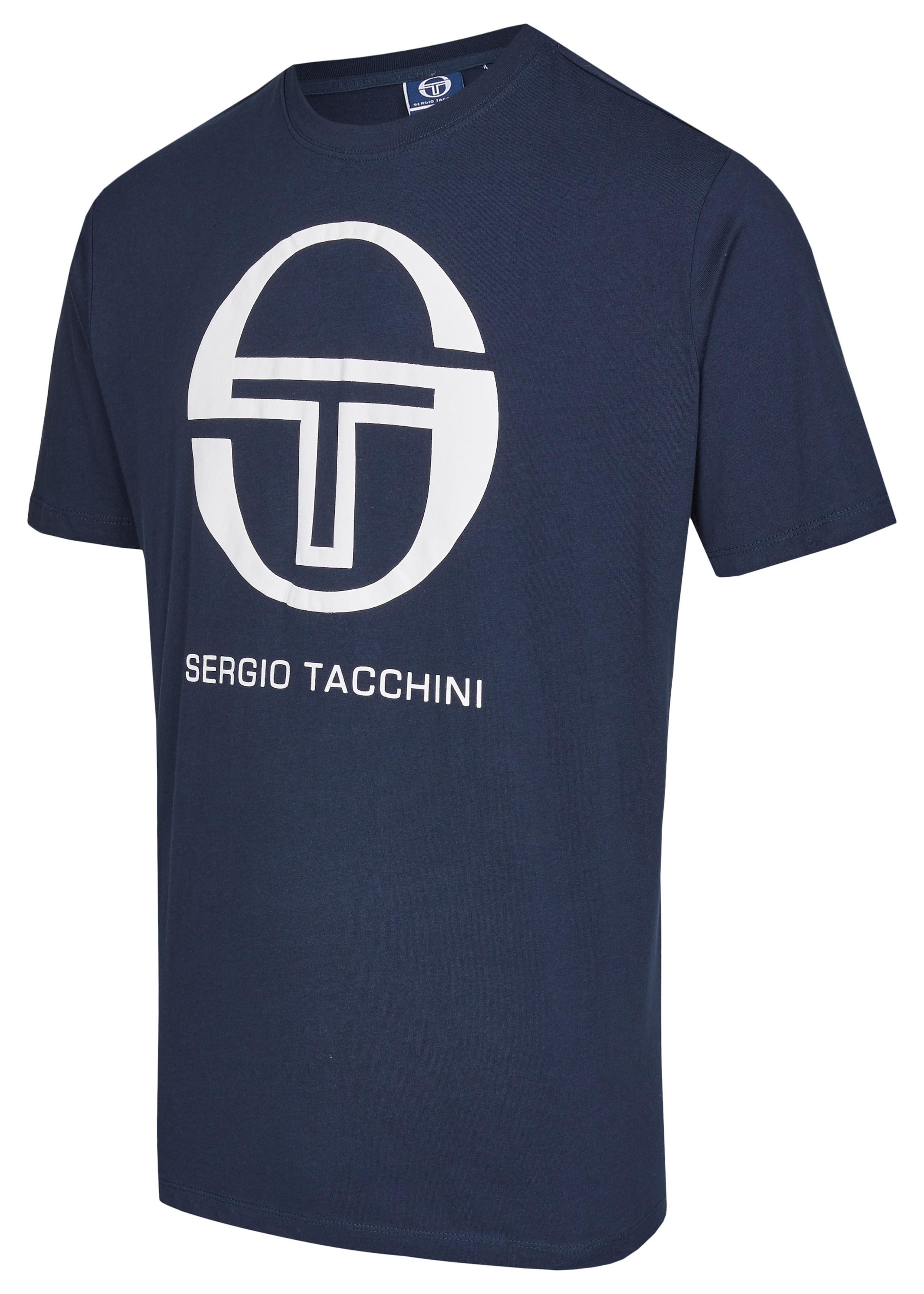 shirt Jersey Tacchini Sergio In BlauWeiß Yyb7g6f