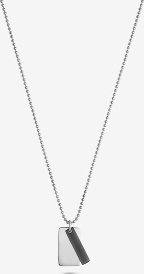 FAVS Kette in schwarz / silber, Produktansicht