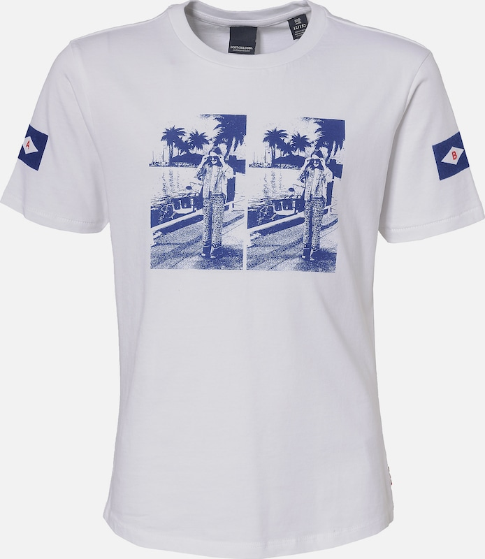Scotch R'Belle T-shirt in navy / weiß, Produktansicht