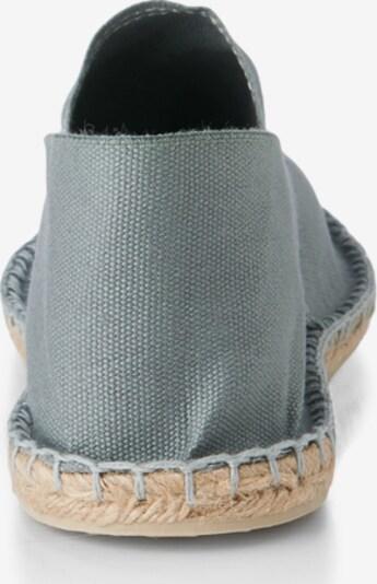 Espadrillas 'Classic' espadrij l´originale di colore grigio: Vista da dietro