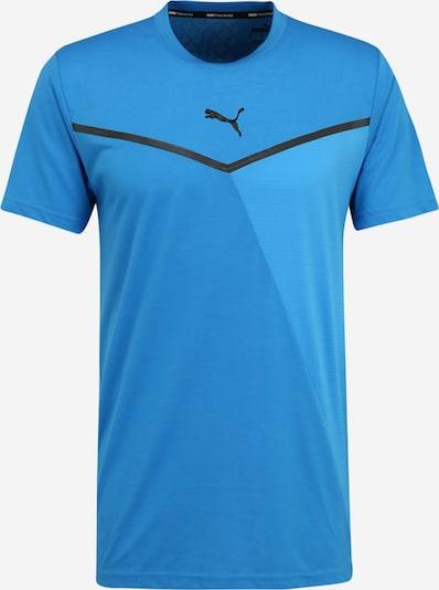 PUMA Shirt in blau / schwarz, Produktansicht