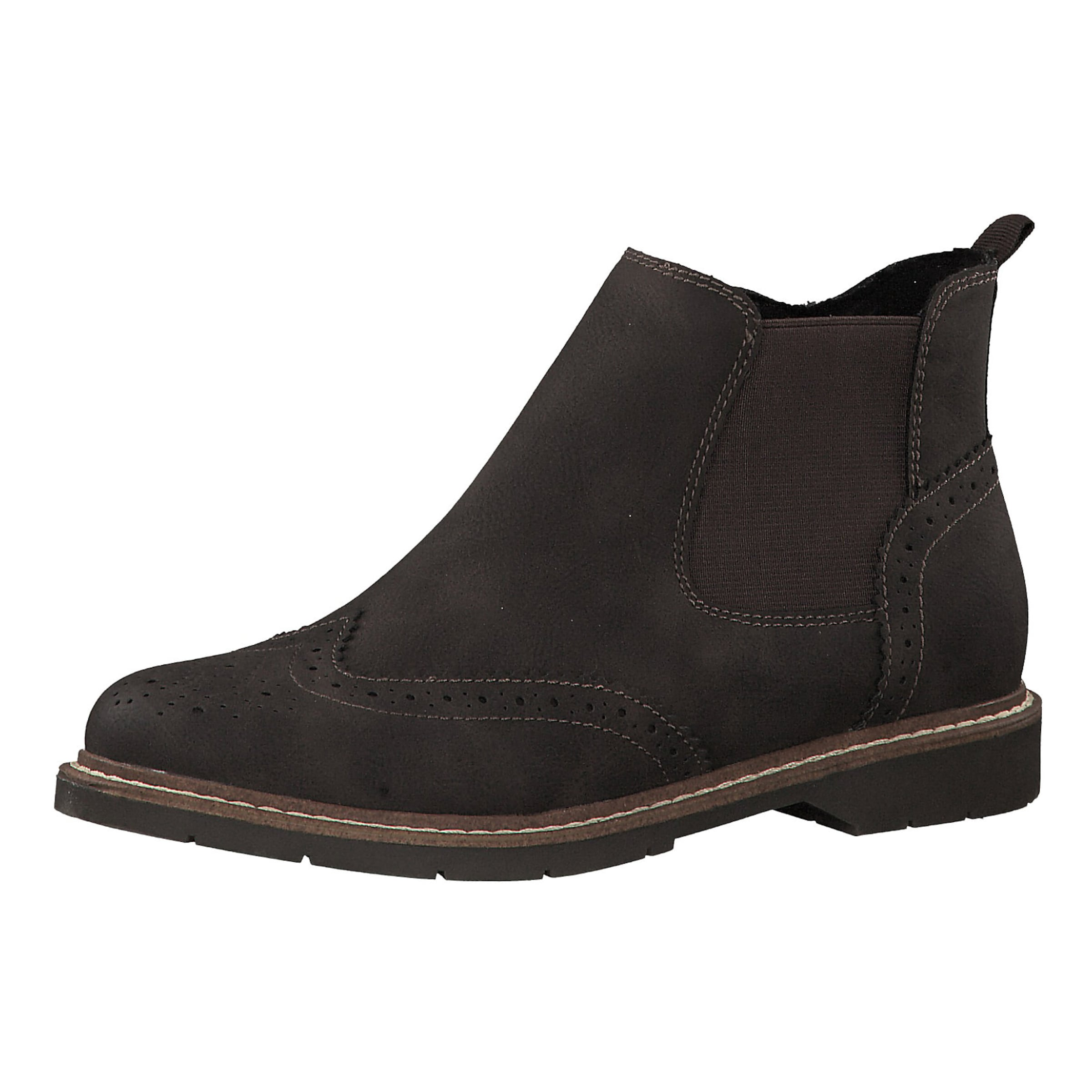 S.Oliver Chelsea Stiefel in dunkelbraun