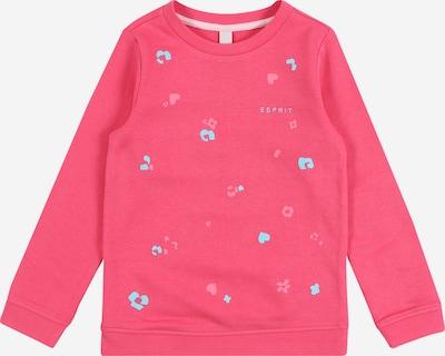ESPRIT Sweatshirt 'SWEAT SHIRt' in hellblau / pink / rosa, Produktansicht