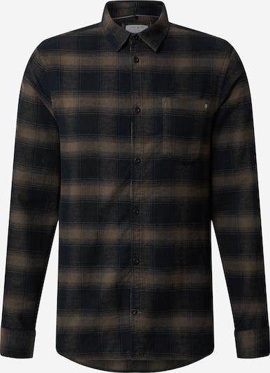 Dalykiniai marškiniai 'Ambitious' iš BLEND , spalva - nakties mėlyna / rusvai pilka, Prekių apžvalga
