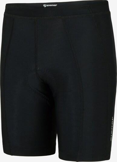 ZIENER Leggings 'Choto' in schwarz / weiß, Produktansicht