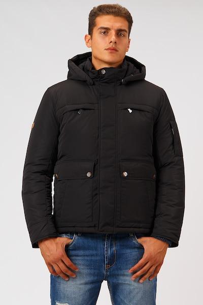 Finn Flare Winterjacke in schwarz, Produktansicht