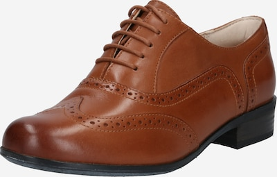 CLARKS Chaussure à lacets en marron, Vue avec produit