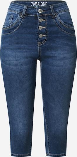 ZABAIONE Pantalon 'Capri Rubina' en bleu denim, Vue avec produit