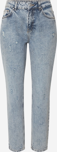 Noisy may Jeans 'NMISABEL' in de kleur Blauw denim, Productweergave
