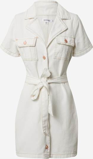 Missguided Kleid in creme, Produktansicht