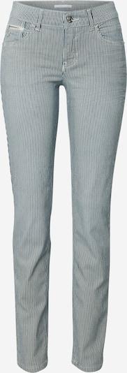 Jeans MAC pe albastru noapte / alb, Vizualizare produs