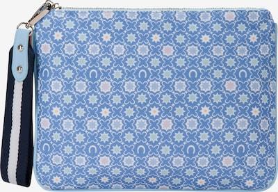 CODELLO Canvas-Clutch in blau, Produktansicht