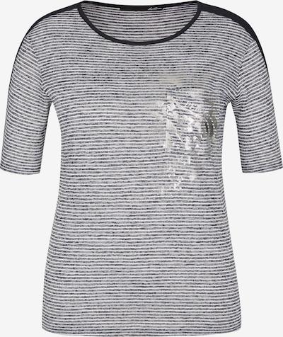Lecomte Shirt in dunkelblau / silber / weiß, Produktansicht