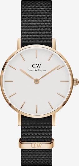 Daniel Wellington Uhr 'Classic Petite 28 Cornwall DW00100251' in gold / schwarz / weiß, Produktansicht