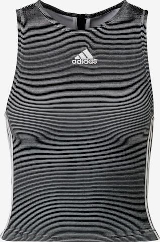 ADIDAS PERFORMANCE Sport top - fekete