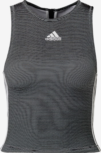 ADIDAS PERFORMANCE Sportovní top - černá / bílá, Produkt