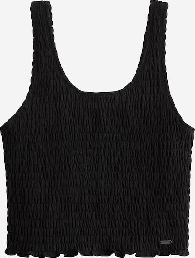 HOLLISTER Top 'SMOCKED BOY TANK' in schwarz, Produktansicht