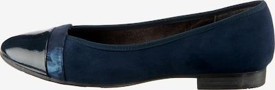 JANA Klassische Ballerinas in blau, Produktansicht