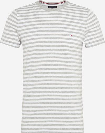 TOMMY HILFIGER T-Shirt en gris / blanc, Vue avec produit
