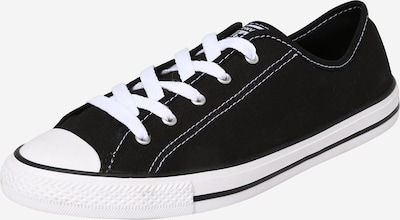 CONVERSE Baskets basses 'Chuck Taylor All Star Dainty Low Ox' en noir, Vue avec produit