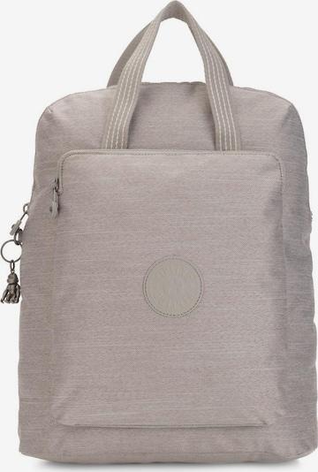 KIPLING Laptoprucksack 'Kazuki' in beige / beigemeliert / weiß, Produktansicht