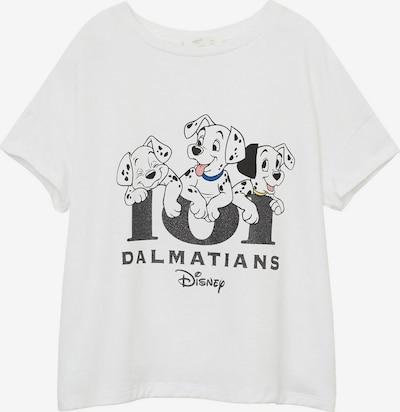 MANGO KIDS Shirt in dunkelgrau / weiß, Produktansicht