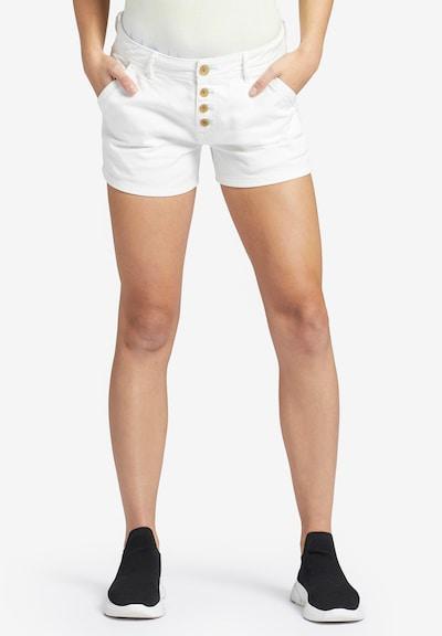 khujo Jeans 'Barby' in de kleur Wit, Modelweergave