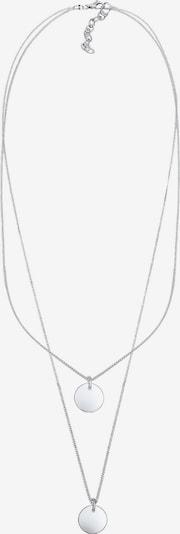 ELLI Halskette 'Kreis, Layer' in silber, Produktansicht