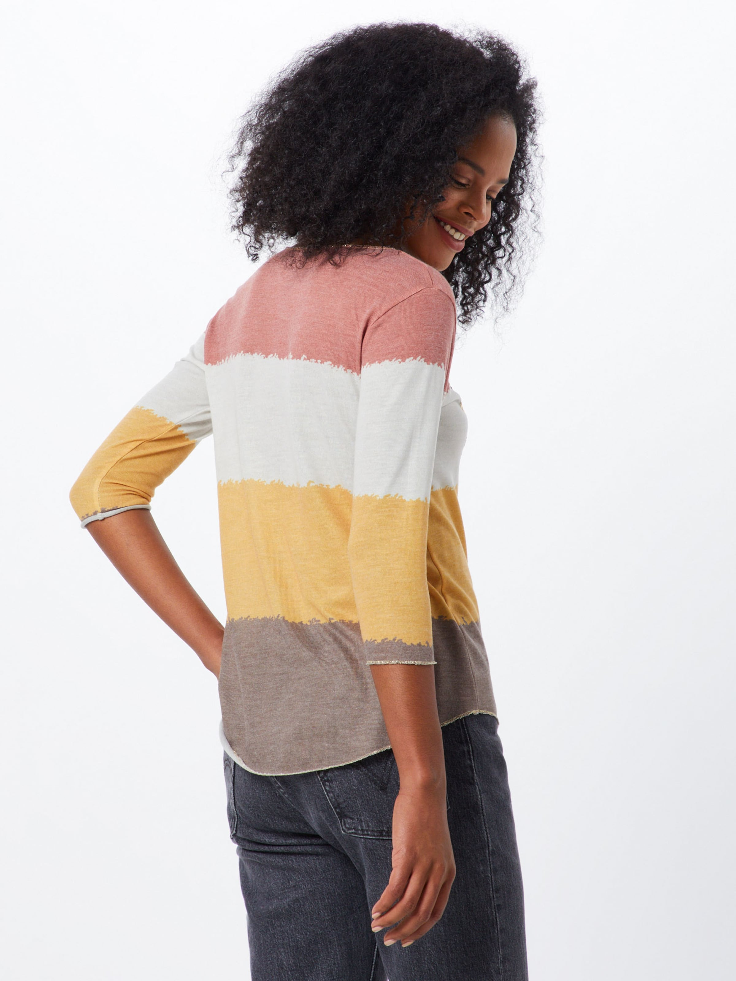 Round' Shirt Largo Soul In GelbRot Key 'wls wn0PkOX8