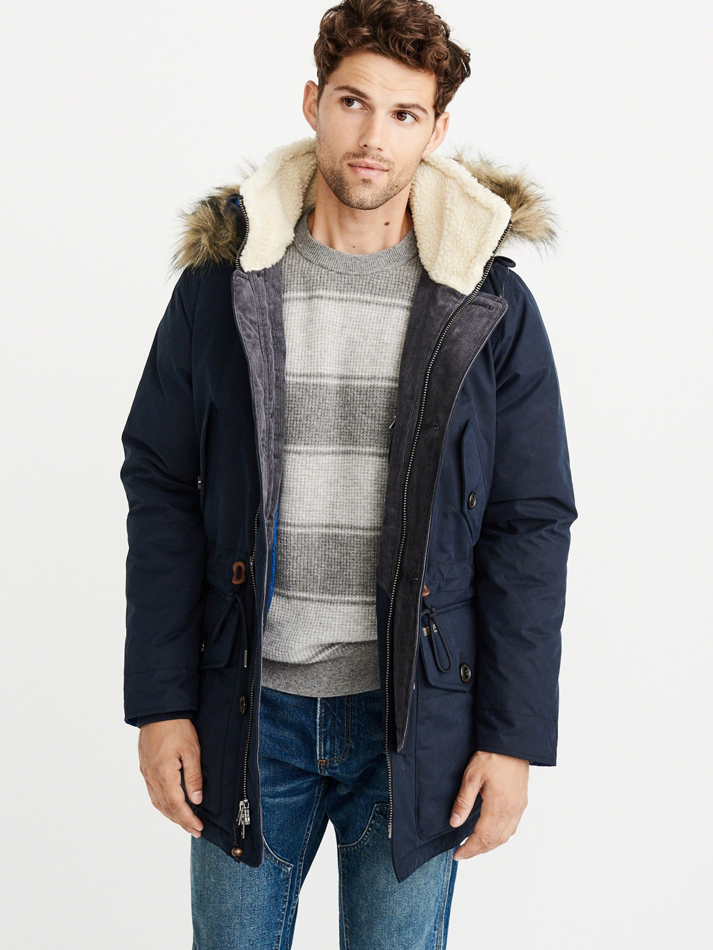 Abercrombieamp; In Fitch Parka 'expedition 4cc' Navy LSMVpUzqG