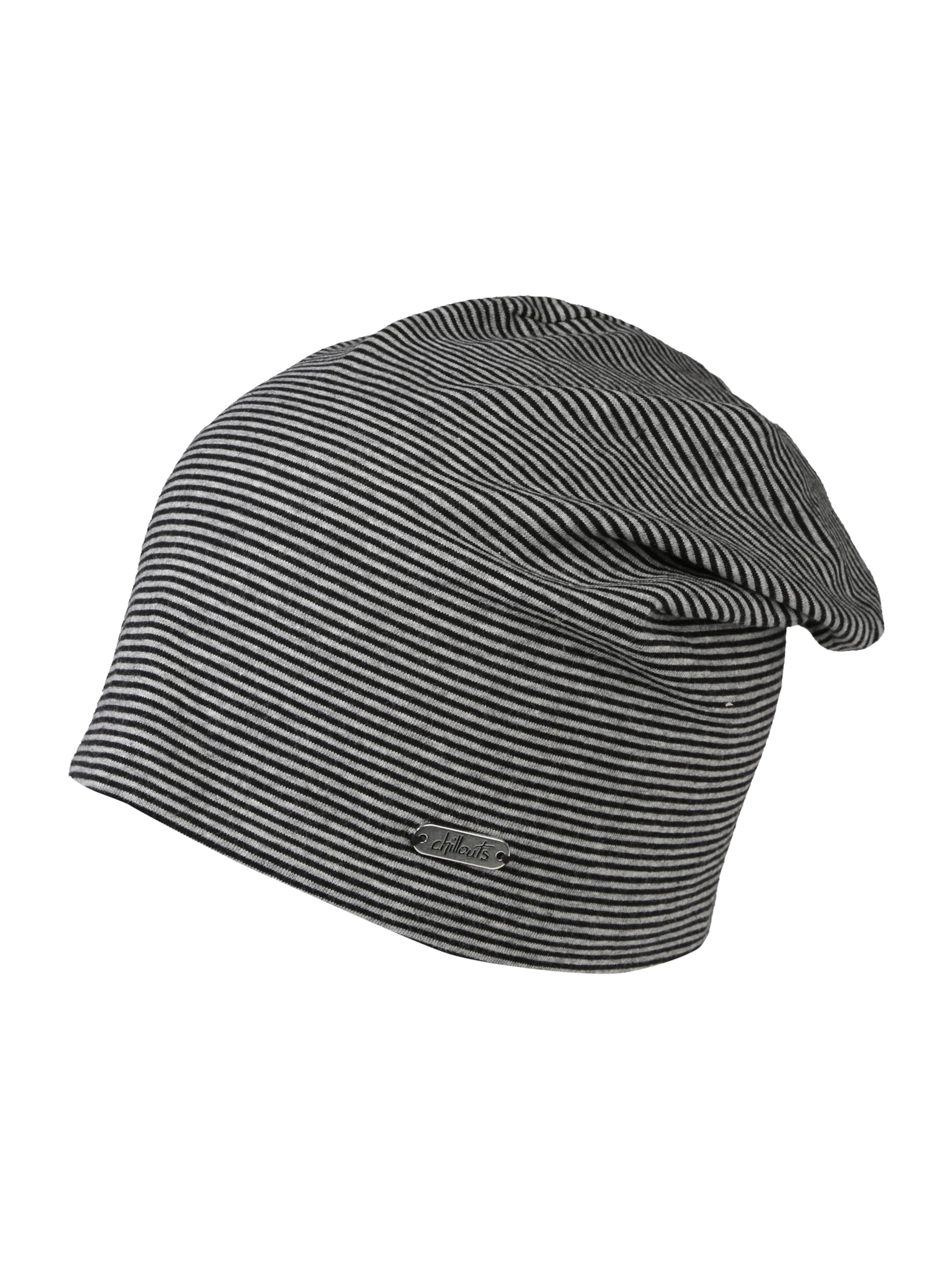 'pittsburgh' GrauSchwarz Beanie Chillouts In EDeY2HIW9b