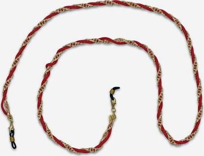 J. Jayz Brillenkette in gold / rot, Produktansicht