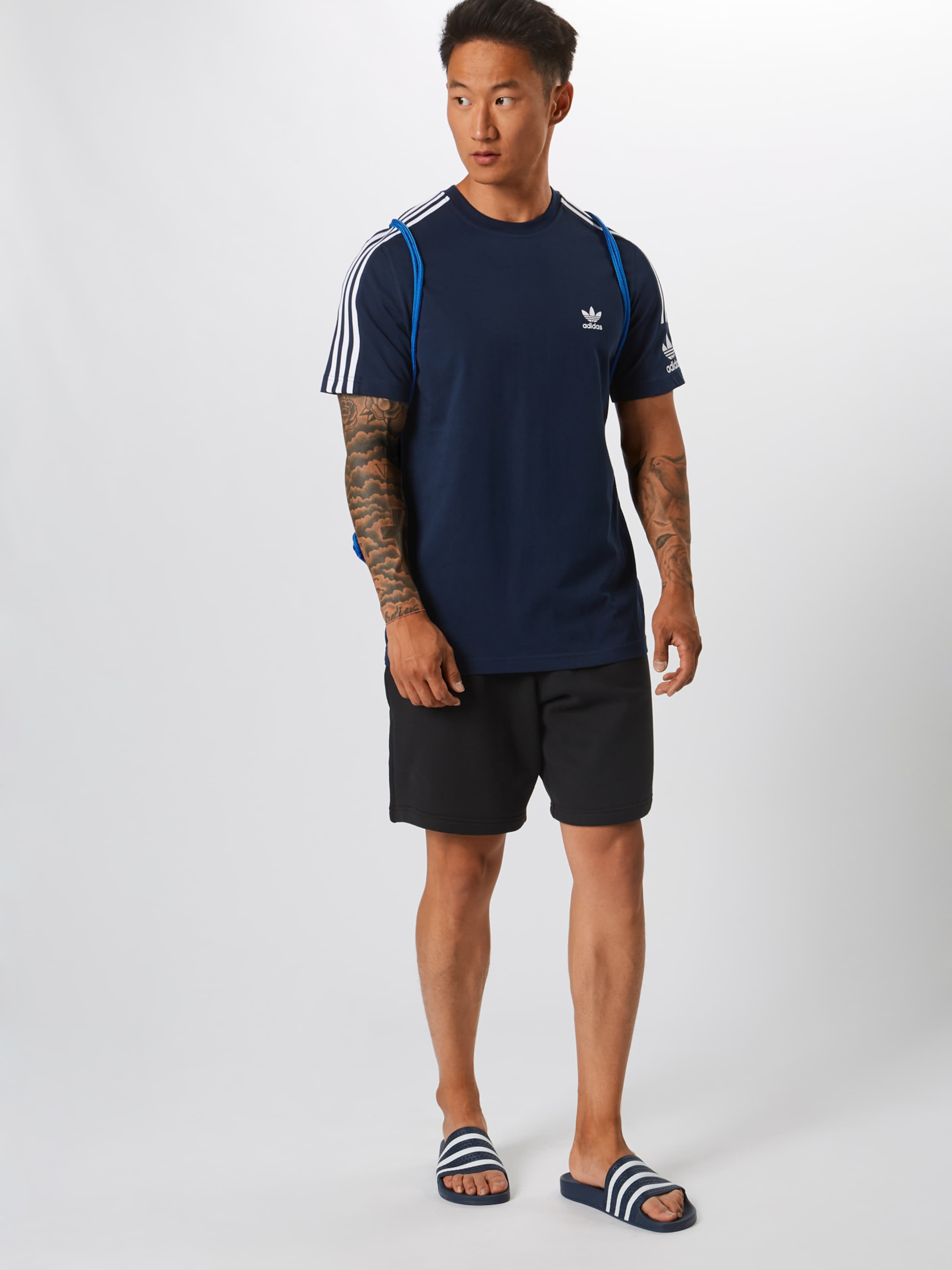 Adidas Up Originals 'lock In Shirt Navy Tee' A354LRj
