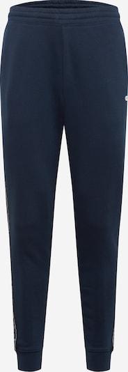 Champion Authentic Athletic Apparel Pantalon en bleu marine / noir / blanc: Vue de face