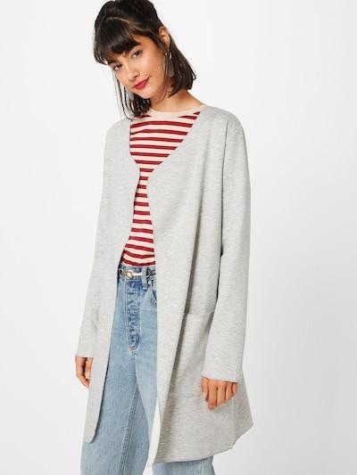 MORE & MORE Cardigan 'Jacke Wirk' in graumeliert, Modelansicht
